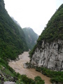 #4: The Mǎbié River was relatively fast flowing, and rather wide, with no way across.
