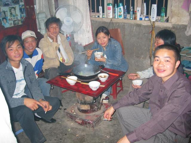The Familie I stayed with in Zhongshan