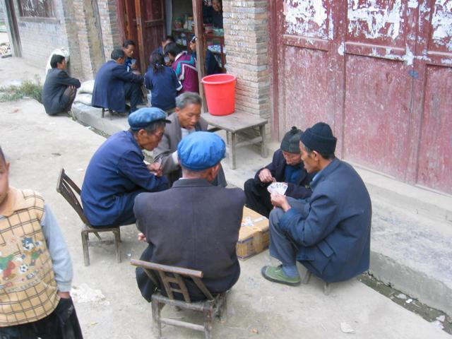 Villagers in Bajiaoliang
