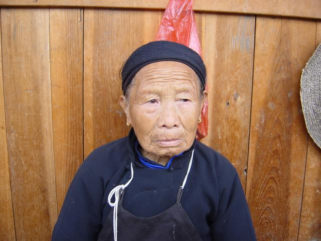 81-year-old lady in Niankeng Village