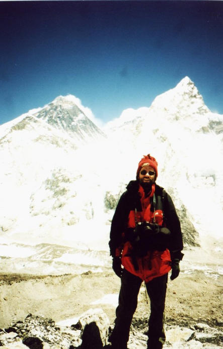 Everest, me and Nuptse