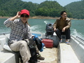 #5: Ah Feng and Yuán Chāngchāng on the boat.