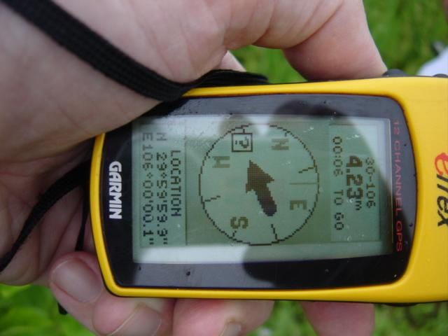 GPS at the confluence - Not quite perfect!