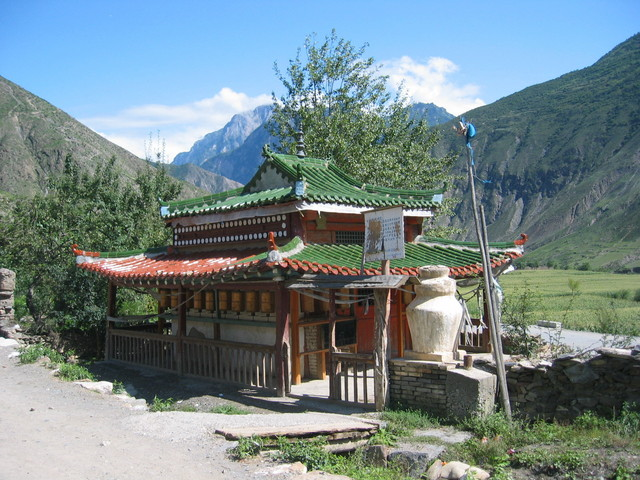 Tibetan temple in Luoda