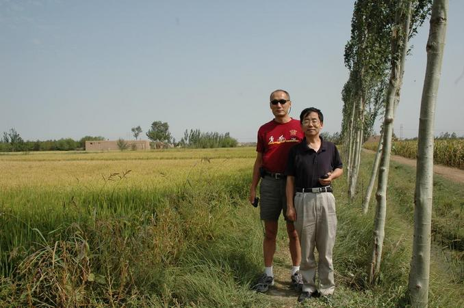 Ray & Xiao Baoping at 2nd CP of Ningxia