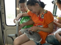 #3: Pet rabbit on bus