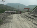 #3: Gate at exit of second iron ore processing factory