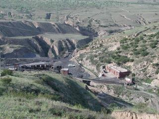 #1: Geneal area overlooking the Red Star Coal mine
