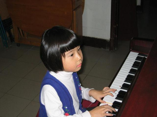 My Niece Playing Piano for Me