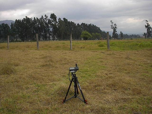 Panoramic view N5W74 with tripod on spot