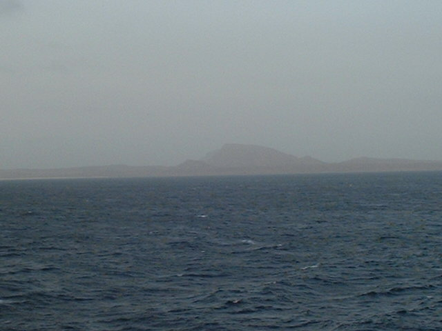 Ilha da Boa Vista with Pico Estância seen from the Confluence
