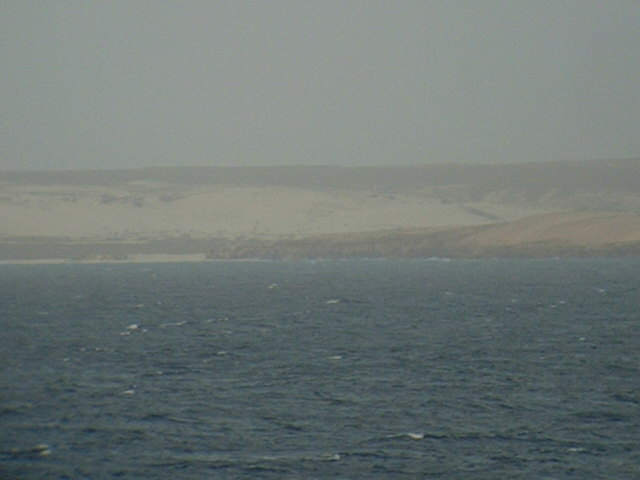 Sandy SW-coast of Ilha da Boa Vista