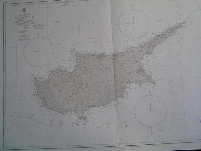 Cyprus has the shape of a helicopter