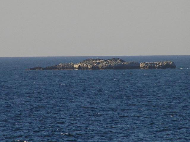 A small islet northeast of Cape Andreas