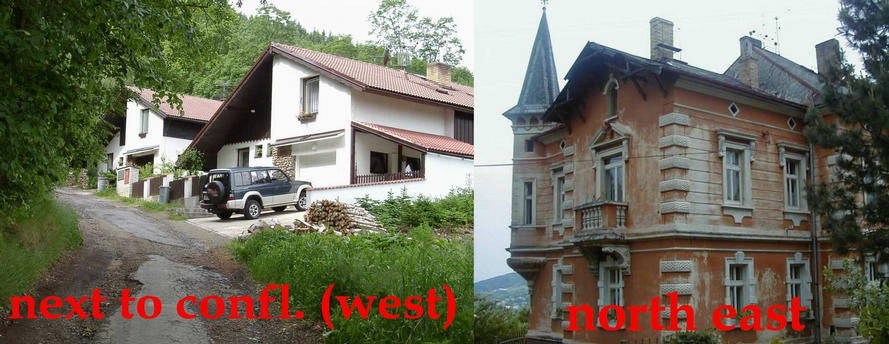 New & old house overlooking Prachatice