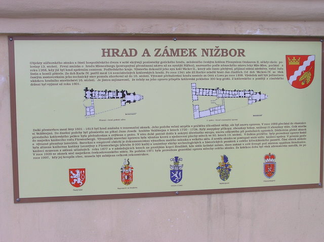 "About the history of Nižbor Castle (unfortunately, ""it's all Czech to me"")"