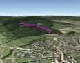 #7: Google Earth track log from the point back down to the car park