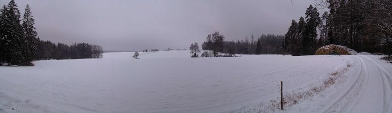 Panorama 1,3 km from CP