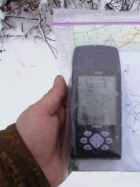 GPS inside DryMap (tm) contraption