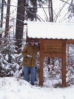 #1: Yours truly at the 'official' confluence point