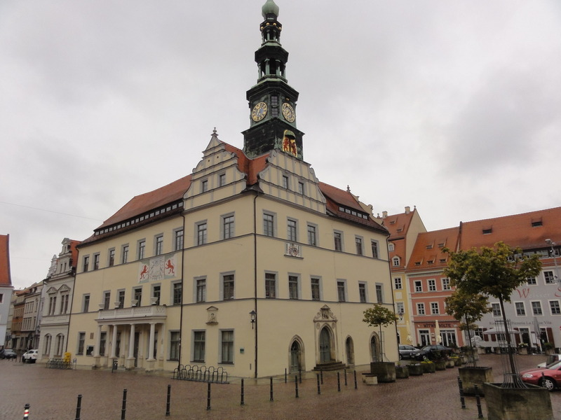 Rathaus in downtown Pirna