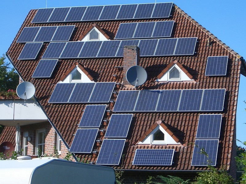 Solar puzzle guesthouse camping Münster