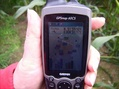 #5: Ablesung am GPS / GPS reading