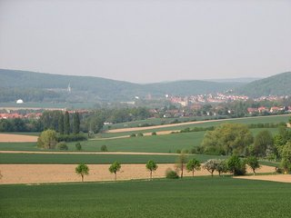 #1: View north - Bad Salzdetfurth can be seen in the distance
