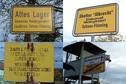 #9: Information and warning signs near the shelter