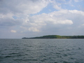 #2: View east along the coast of Mecklenburg