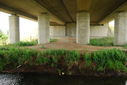 #8: Motorway bridge with creek