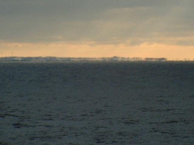 the Polish coast seen from the confluence