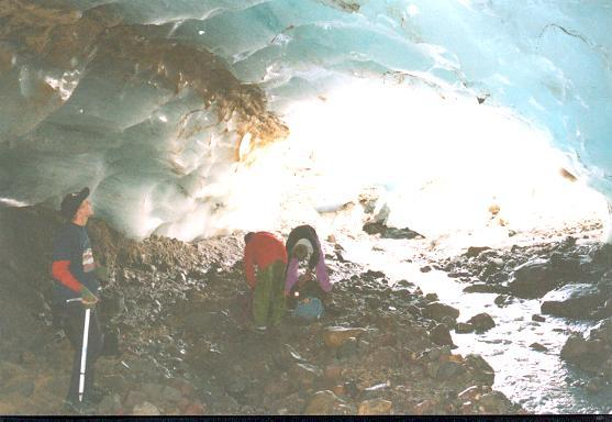 ice cave near confluence