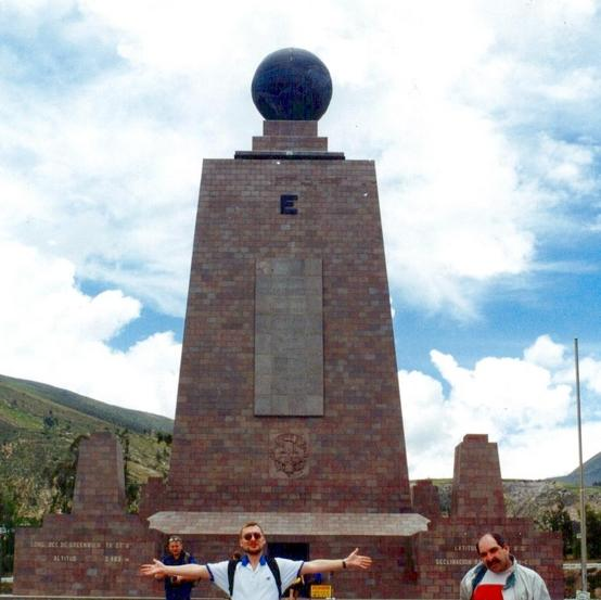"""Middle of the World"" monument"