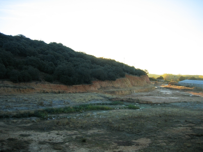 View from the Open Pit at a distance of 100 m