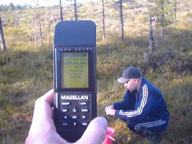 GPS reading and Antti T.