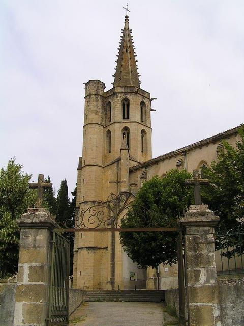 the St. Pierre Church of Chalabre