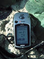 #3: Picture of GPS at confluence point
