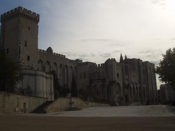 The popes palace in Avignon