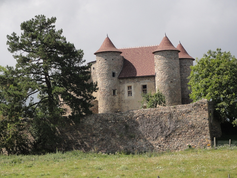 Fairy tale castle in the french outback