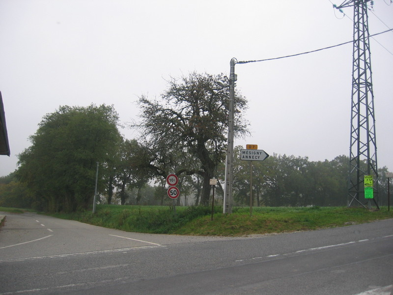 The Crossroads - Confluence from 100 m distance