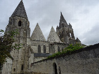 #7: Saint Ours cathedral in Loches