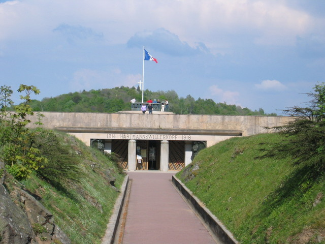 Hartmannswillerkopf World War I memorial