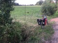 #9: Bike and ditch in the foreground