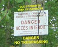 #8: Warning sign