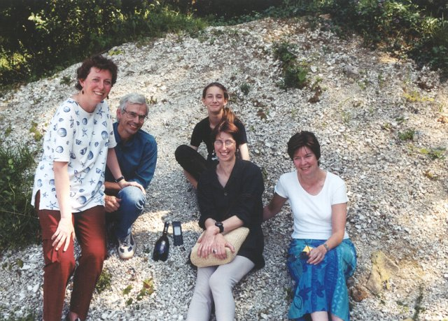 Marianne, Guy, Juline, Marie-Claude and Michèle