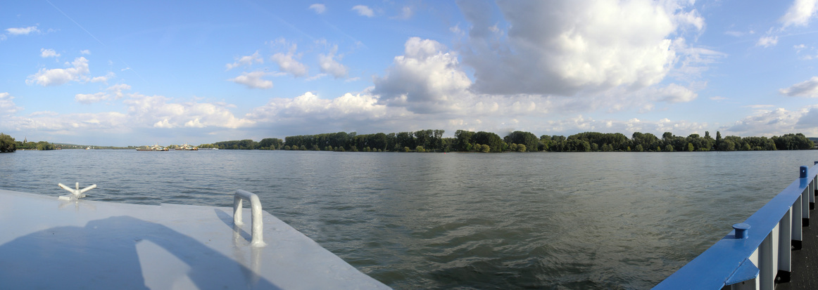 Panorama on the river