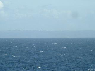 #1: Cap de La Hague and parts of Cherbourg seen from the confluence