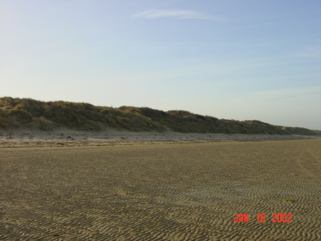 800 meters South : the dunes