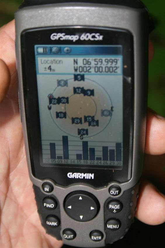 GPS evidence of our conquest